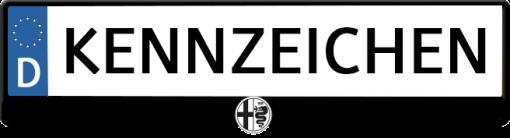 Alfa-Romeo-Logo-kennzeichenhalter
