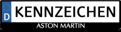 Aston-Martin-logo-kennzeichenhalter