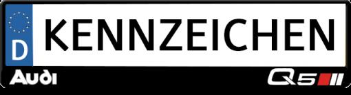 Audi-Q5-kennzeichenhalter
