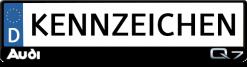 Audi-Q7-kennzeichenhalter
