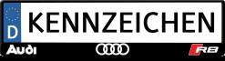Audi-R8-kennzeichenhalter