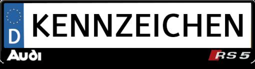 Audi-RS5-kennzeichenhalter
