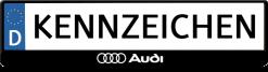 Audi-logo-3D-kennzeichenhalter