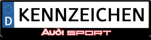 Audi-sport-kennzeichenhalter