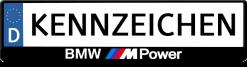 BMW-M-power-kennzeichenhalter