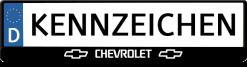Chevrolet-3D-kennzeichenhalter