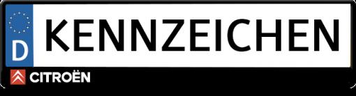 Citroen-logo-kennzeichenhalter