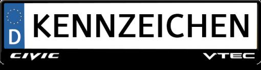 Civic-VTEC-kennzeichenhalter