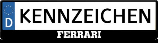Ferrari-3D-kennzeichenhalter