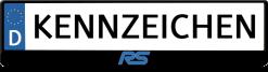 Ford-RS-3D-kennzeichenhalter