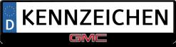 GMC-kennzeichenhalter