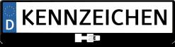 H3-Hummer-logo-kennzeichenhalter