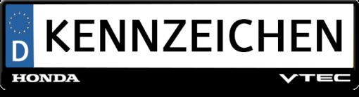 Honda-VTEC-kennzeichenhalter