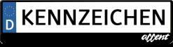 Hyundai-accent-kennzeichenhalter