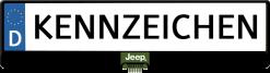 Jeep-Logo-kennzeichenhalter