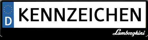 Lamborghini-logo-kennzeichenhalter