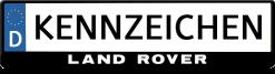 Land-rover-3d-kennzeichenhalter