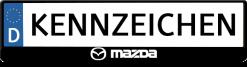 Mazda-3D-kennzeichenhalter