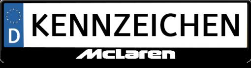 Mclaren-kennzeichenhalter