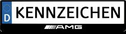 Mercedes-AMG-3D-kennzeichenhalter