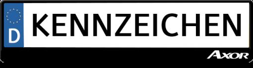 Mercedes-Axor-kennzeichenhalter