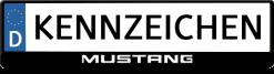 Mustang-logo-kennzeichenhalter