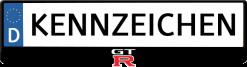 Nissan-GT-R-kennzeichenhalter