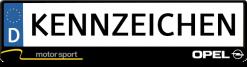 Opel-motorsport-kennzeichenhalter