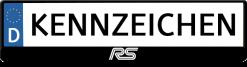 RS-Ford-Focus-logo-kennzeichenhalter