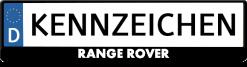 Range-Rover-kennzeichenhalter
