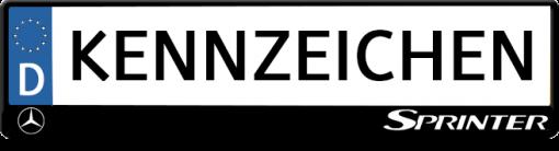 Sprinter-logo-kennzeichenhalter