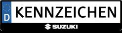Suzuki-mitte-kennzeichenhalter