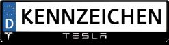 Tesla-logo-kennzeichenhalter