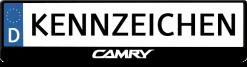 Toyota-Camry-logo-kennzeichenhalter