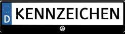 VW-logo-kennzeichenhalter