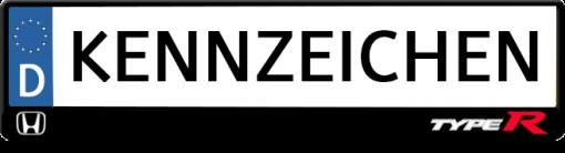 honda-logo-type-r-kennzeichenhalter