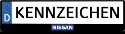 nissan-logo-mitte-kennzeichenhalter