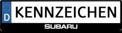 subaru-kennzeichenhalter