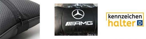AMG-Auto-Kissen-Kissen-Nackenkissen-Auto-Sitzkissen-Auto-Kopfstutze